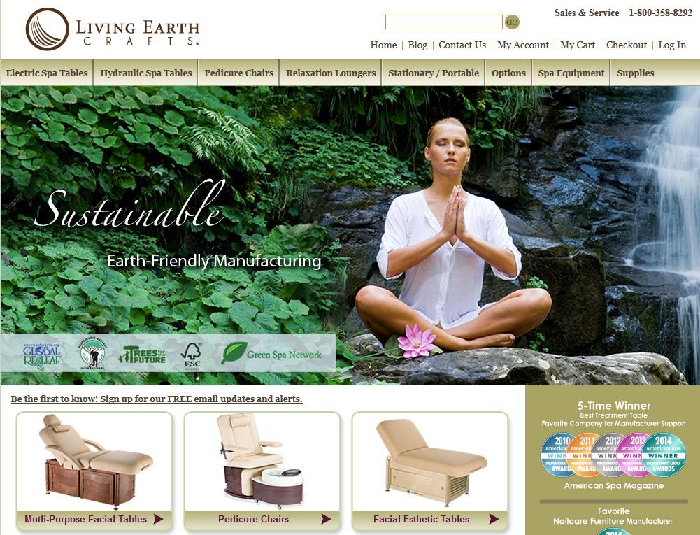 living earth crafts utah website design. Black Bedroom Furniture Sets. Home Design Ideas